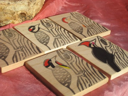 Woodpecker Cards