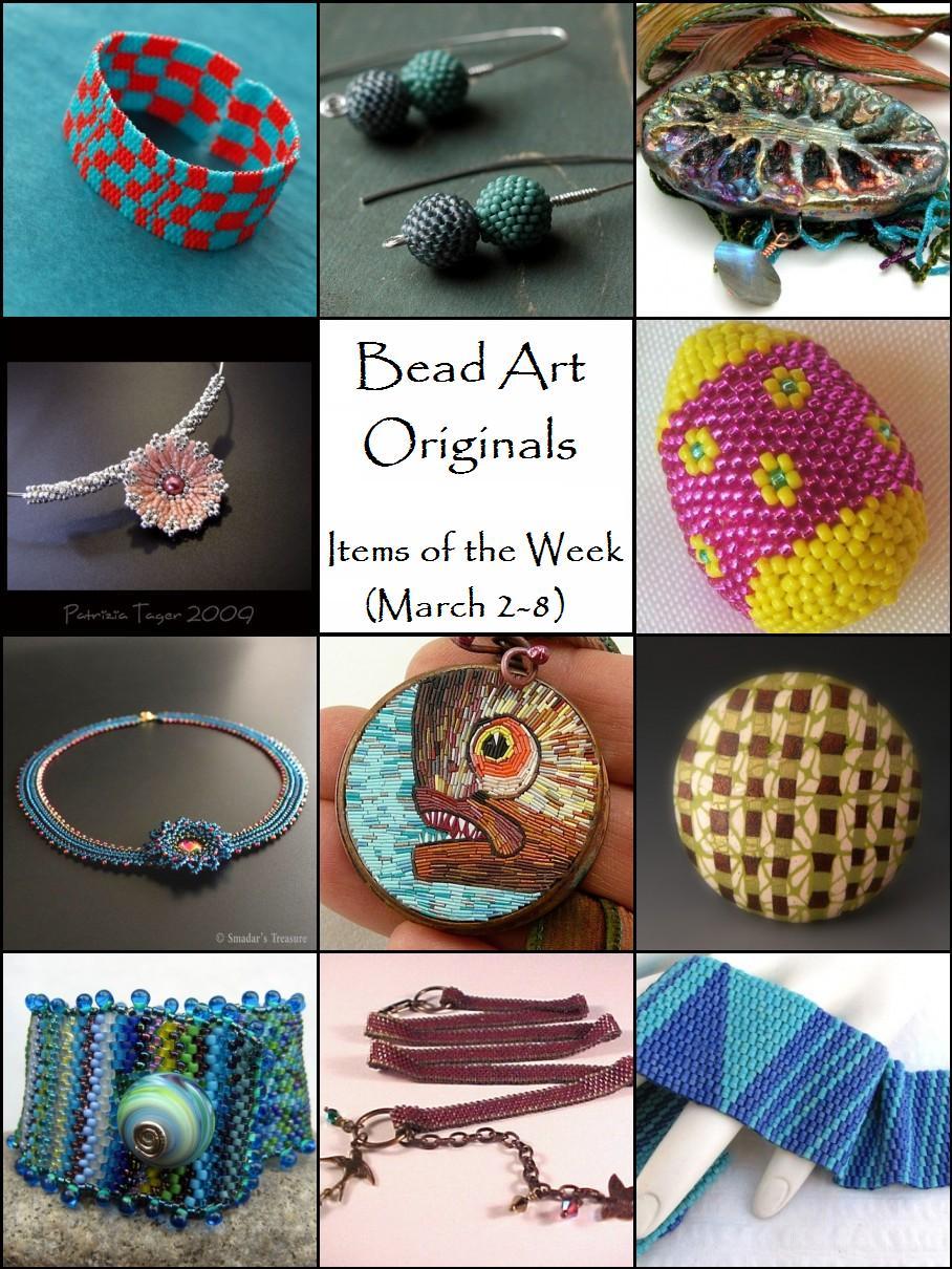 Bead Art Originals Items of the Week (March 2-8)