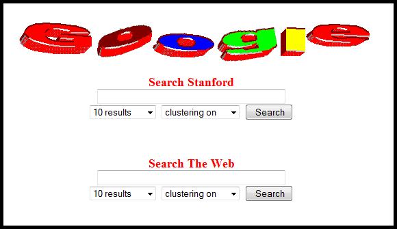 Before Google became Google: The original setup at Stanford