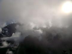 Subiendo a Machu Picchu. 5.30am