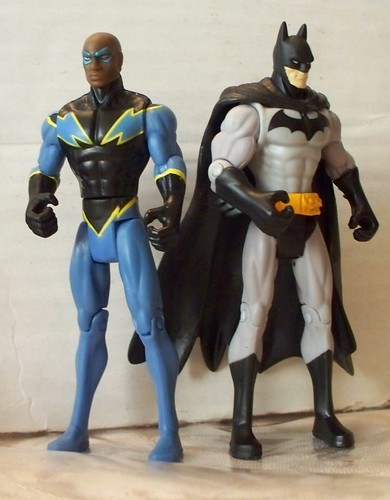 Black Lightning and Batman