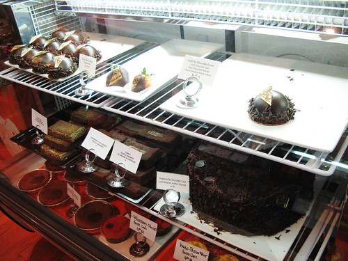 Haute Chocolate display