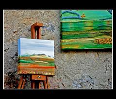 Con gli occhi dell'Artista (torremountain) Tags: italy art landscape nikon paint colours arte d picture tuscany 40 toscana toscane colori paesaggio colline scatti tela pittura dipinto d40 fotografici