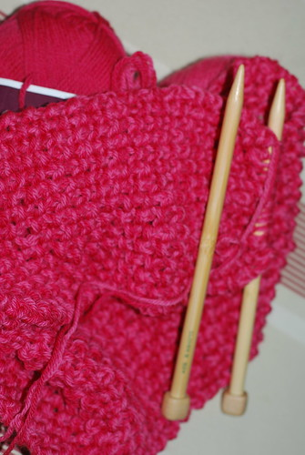 Aunt Sandra's scarf..wip by you.