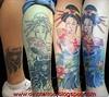 Tattoo Geisha,Tatuaje Geisha