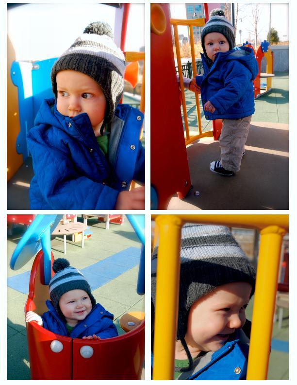 Soren at the park