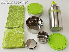 Kids Konserve metal lunch set