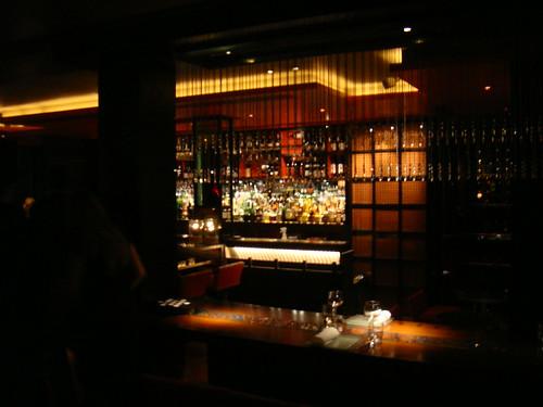 Vista de la zona de bar