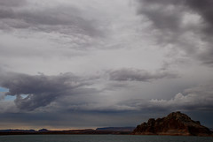 Lake Powell rainy sky (Anitab) Tags: clouds rainy lakepowell rainclouds handofgod skyascanvas