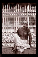 Contemplation (Ezhil Ramalingam) Tags: street man photography indian explore void staring soe contemplation tiruvannamalai krishlikesit sacredash