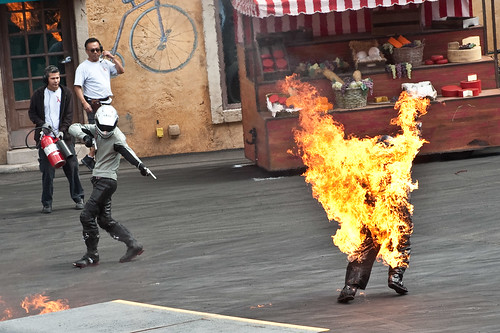 Lights, Motors, Action - Fire Sequence - Disneys Hollywood Studios