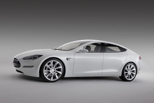 Tesla Model S - no oil here!