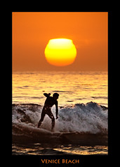 Venice Beach Surfer (szeke) Tags: ocean california venice light sunset sun beach water silhouette landscape losangeles pacific surfer wave surfing venicebeach breathtaking breakingwave goldenlight blueribbonwinner supershot breathtakinggoldaward colorsofthesoul breathtakinghalloffame