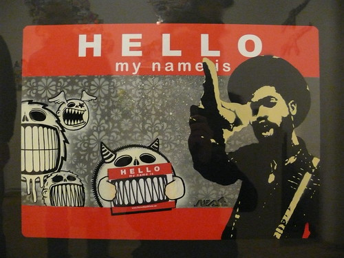 Hello my name is... nestdafoe-Sticker