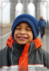 New York:  Brooklyn Bridge Bunny Ears (E.Peoples) Tags: newyorkcity family ny newyork boys portraits children pentax manhattan timessquare brooklynbridge manhattanbridge isaiah gotham bunnyears k200d candidspontaneous