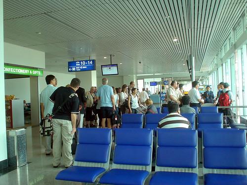 15.準備登機前往金邊
