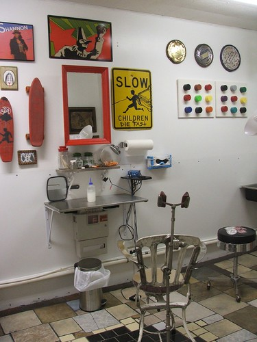 shannon's tattoo room