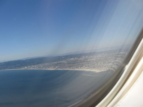 The only way to truly get a handle on LA's immensity? Out an airplane porthole.