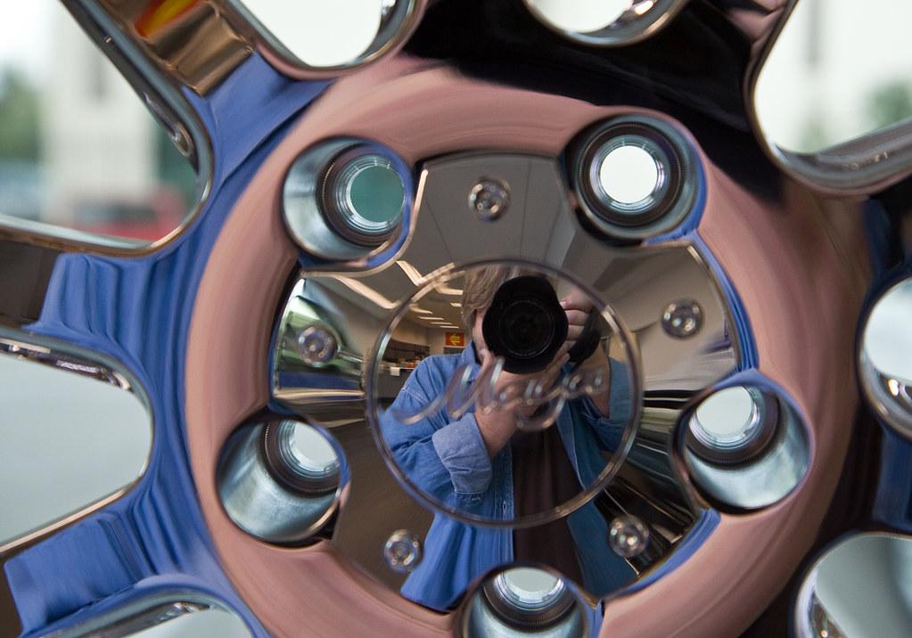wheel nice selfie