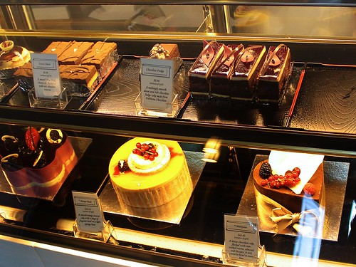 Cakes display