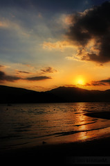 Till next time (kristian.eric) Tags: sunset beach silhouette nikon dusk whiterock subic d90 blacksaturday 18105mm kristianm kristianeric