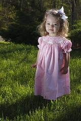 Grace's Easter Dress