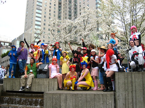 Pokemon Cosplayers