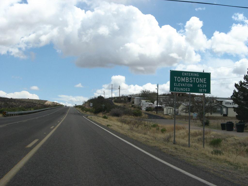 Entering Tombstone, Arizona