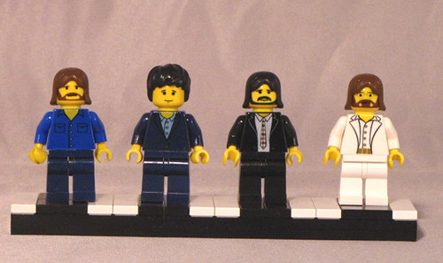 Abbey Road Beatles custom minifigs