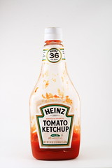 Ketchup (Jeff Hernandez) Tags: light red white canon tomato poster ketchup box board remote products items placement f11 heinz lightbox 57 trigger varieties xti 400d
