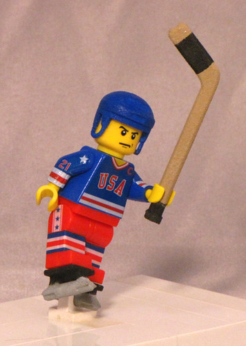 Mike Eruzione Ice Hockey custom minifig
