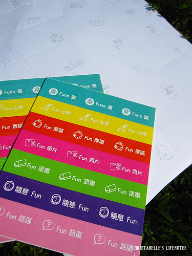 funs note stickers