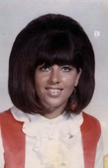 High School Girl, 1969 (ozfan22) Tags: friends 1969 girl bighair teen schoolphoto beehive