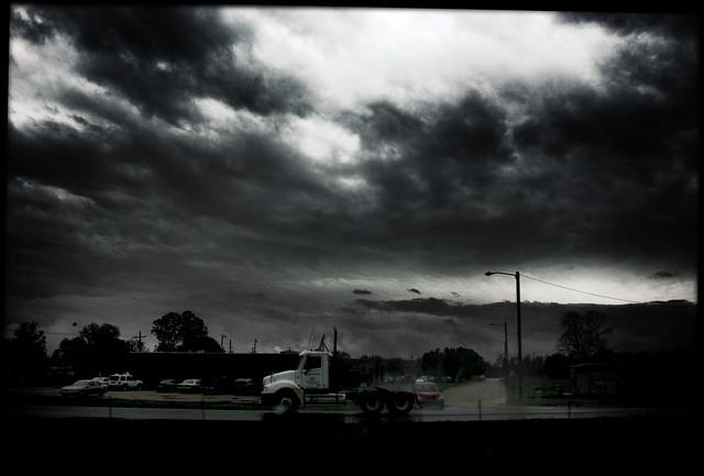 Texas Truck and Rain