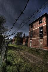 Concentration camp style sanatorium (Jared Benney) Tags: pentax sanatorium sigma1020mmf456exdc k10d
