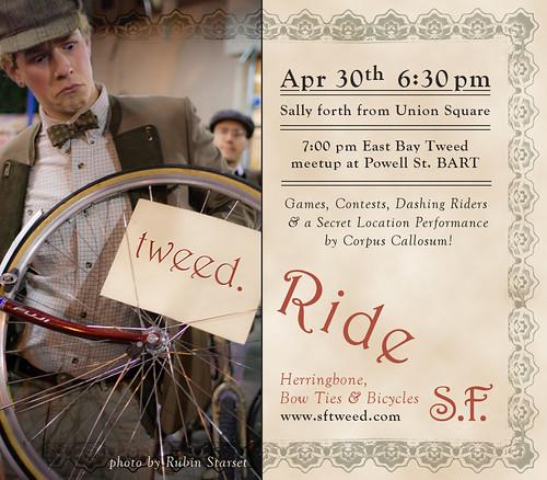 S.F. Tweed Rides Again!