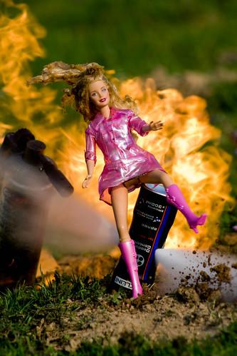 Action Barbie