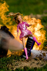 Action Barbie