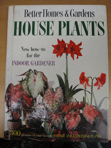 "Vintage garden book -- ""Better Homes and Gardens House Plants"""