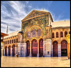 The Umayyad Mosque ! (Bashar Shglila) Tags: sky mosque syria damascus hdr masjid  umayyad masjed  addictedtoflickr    addictedtohighquality