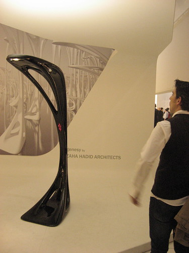 Genesy floorlamp by Zaha Hadid Architects for Artemide
