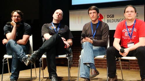 Session zur Netzzensur ohne Politiker