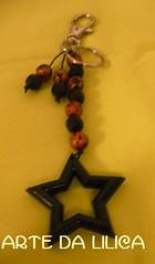 Chaveiro Estrelado (_Lilica_) Tags: cores artesanato chaveiro bijus
