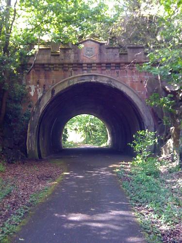 Tunnel on Lanarkshire and Dunbartonshire Railway