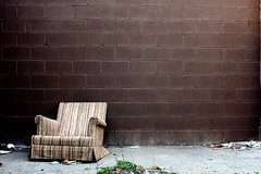 (Brian Hagy) Tags: brown chicago abandoned chair no il dumping thebestofday gnneniyisi