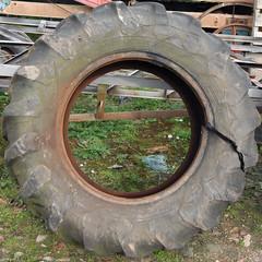 tyre (Leo Reynolds) Tags: canon eos rust iso400 squaredcircle f95 tyre 22mm 0008sec 40d hpexif sqrandom xsquarex sqset035 xleol30x xxx2009xxx xratio1x1x