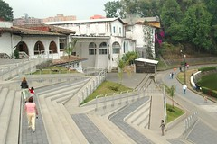 Steps in front of Centro Cultural Los Lagos