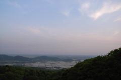 Rice planting scenery