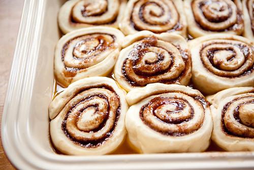 Cinnamon Buns, pre-baked