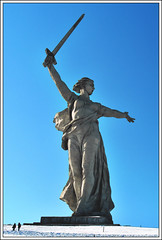 Mother of Russia, Volgograd Russia